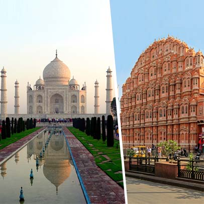 2 Days Agra Jaipur Tour from Delhi