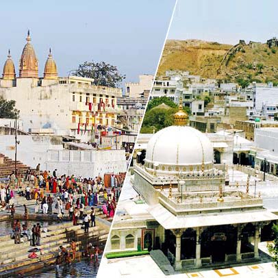 2 Days Jaipur Ajmer Pushkar Tour