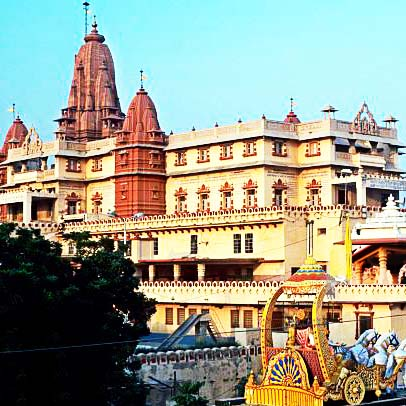 3 Days Mathura Vrindavan Agra Tour