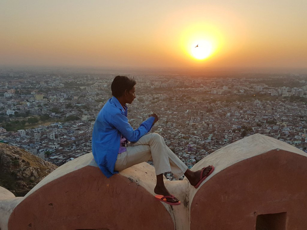 Sunset View Nahargarh Fort