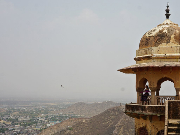 Top View from Jaigarh Fort