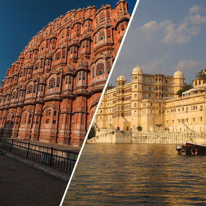 5 Days Jaipur Udaipur Tour