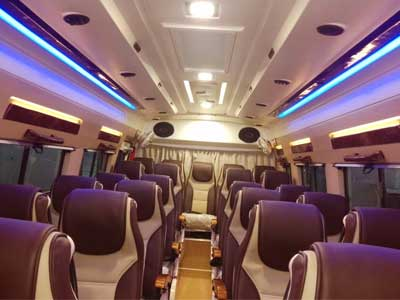 26 Seater Tempo Traveller