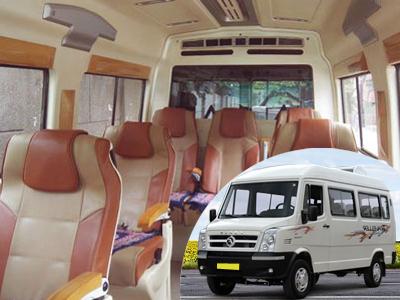 7 Seater Tempo Ttraveller